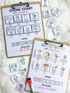 Printable Chore Chart for Kids - Digital Download