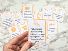 Load image into Gallery viewer, Questions to Ask Kids - Printable Cards to Get Your Kids Talking