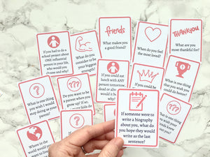 Questions to Ask Kids - Printable Cards to Get Your Kids Talking