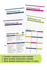 The ULTIMATE Home Maintenance Planner - Instant Download