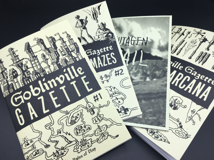 Goblinville Gazette: Issues 1-4