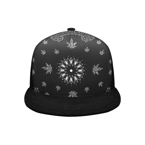 Bandana Cannabis Trucker Hat