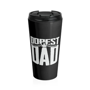 Dopest Dad Stainless Steel Cannabis Travel Mug