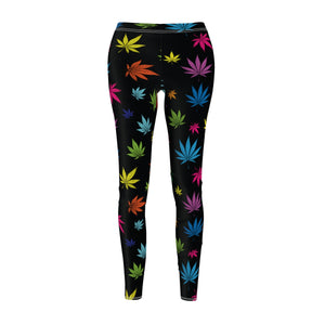 COLORFUL LEAVES LEGGINGS