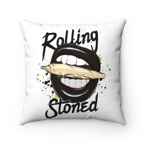 ROLLING STONED THROW PILLOW