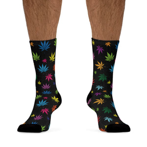 COLORFUL LEAVES SOCKS