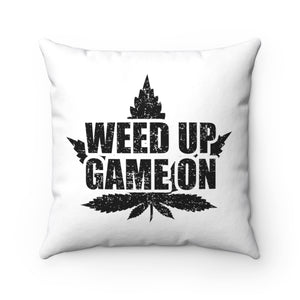 WEED GAMER THROW PILLOW