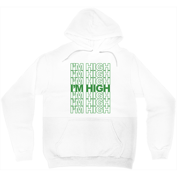 I'M HIGH PULLOVER HOODIE (UNISEX)