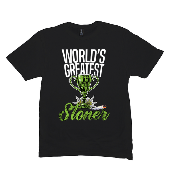 WORLD'S GREATEST STONER TEE (UNISEX)
