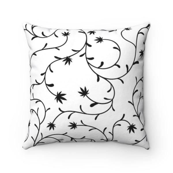 WEED VINE THROW PILLOW