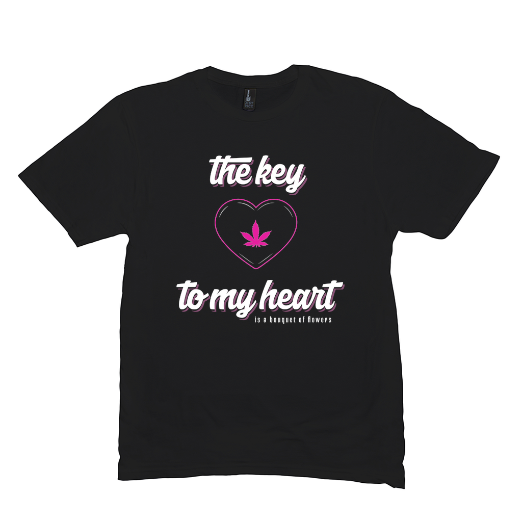 THE KEY TO MY HEART - PINK (UNISEX)
