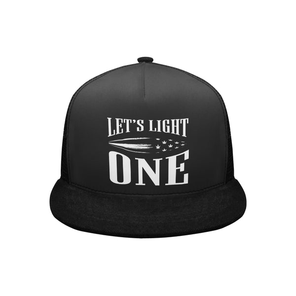 Let's Light One Cannabis Trucker Hat