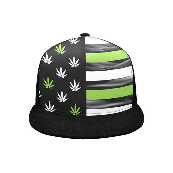 Cannabis Flag Trucker Hat