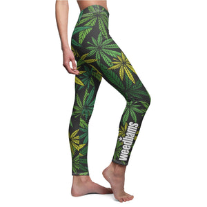 weedbams Weed Cannabis Leggings