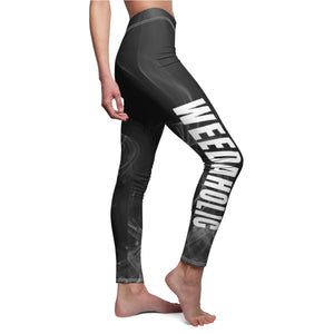 Weedaholic Cannabis Leggings