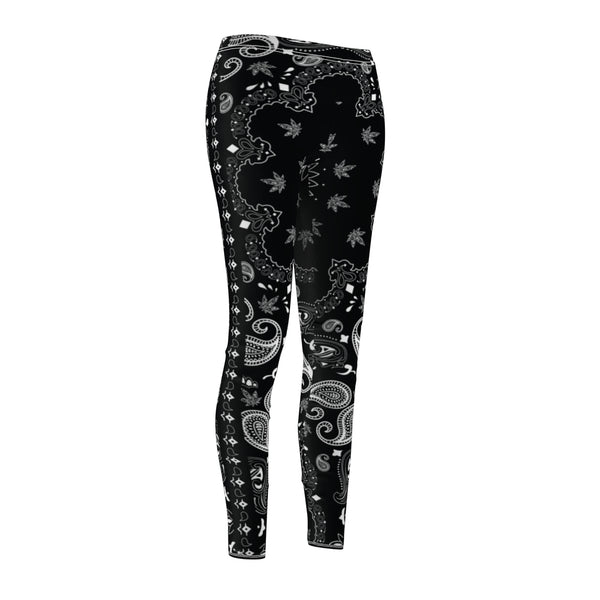 Bandana Weed Leaf Pattern Leggings
