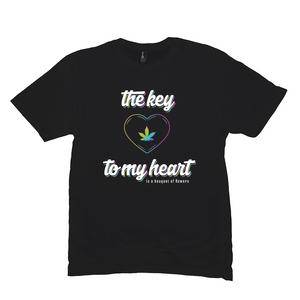THE KEY TO MY HEART - RAINBOW (UNISEX)