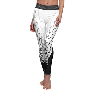 Weed Leaf Echo Cannabis Leggings