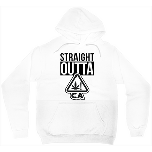 "STRAIGHT OUTTA ""CA"" PULLOVER HOODIE"