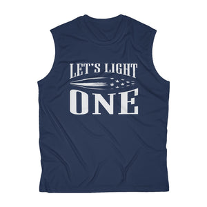 Lets Light One Mens Cannabis Tank Top