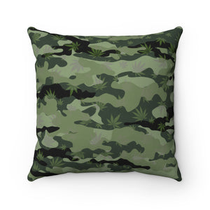 CANNOflage THROW PILLOW