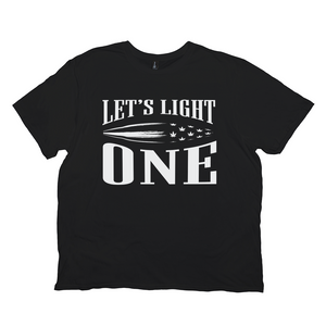 Let's Light One Cannabis Tee (unisex)