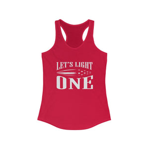 Let's Light One Womens Cannabis Tank Top