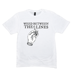 WEED BETWEEN THE LINES (TEE)