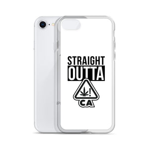 STRAIGHT OUT OF CA! iPhone Case