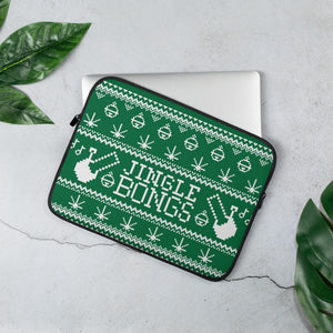 JINGLE BONGS LAPTOP CASE (DARK GREEN)