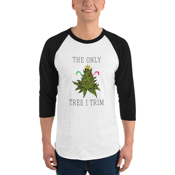 TRIM TREE - 3/4 sleeve raglan shirt
