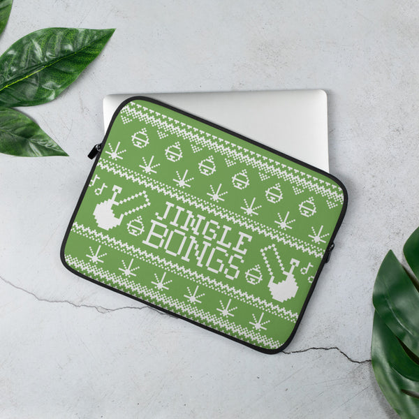 JINGLE BONGS LAPTOP CASE (LIGHT GREEN)