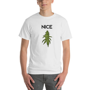 NAUGHTY OR NICE CANNABIS STYLE - TSHIRT MENS