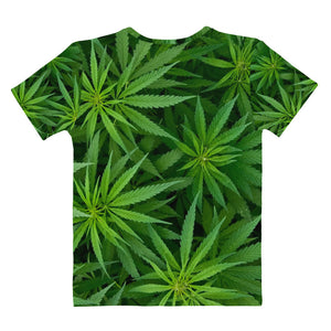 WEEDBAMS CANNABIS TEE - WOMENS