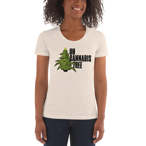 OH CANNABIS TREE - WOMENS TEE