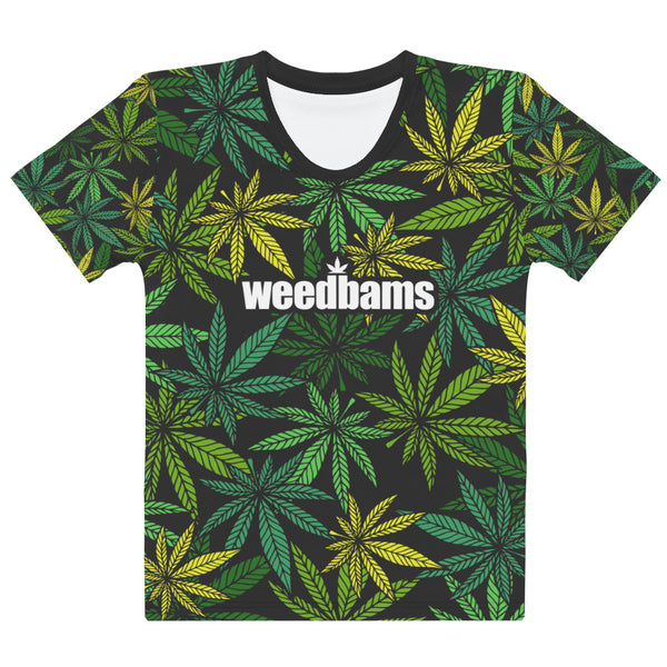 WEEDBAMS WEED PATTERN TEE