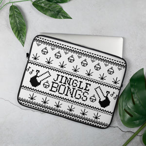 JINGLE BONGS LAPTOP CASE (WHITE & BLACK)