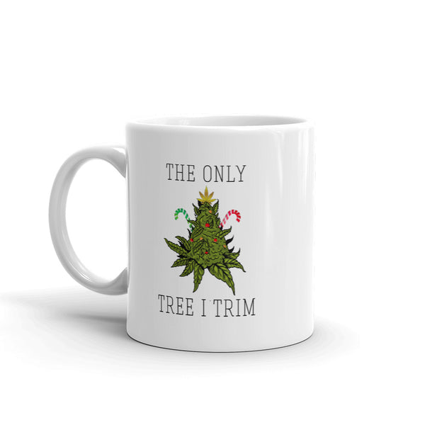 TRIM THE TREE CANNABIS MUG