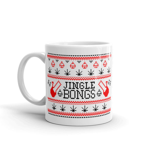 """JINGLE"" CANNABIS MUG (ORIGINAL)"