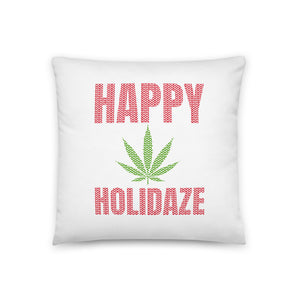 HAPPY HOLIDAZE PILLOW