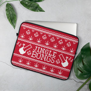JINGLE BONGS LAPTOP CASE (RED)