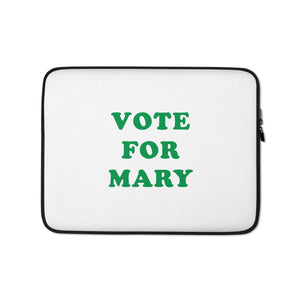 VOTE FOR MARY LAPTOP CASE