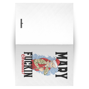 MARY F***** CHRISTMAS CARD SET
