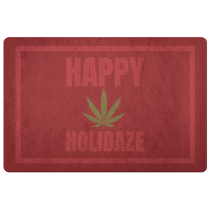 Happy Holidaze - Holiday Welcome Mat