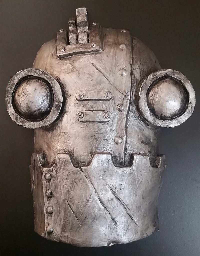 SteamBot - aged silver