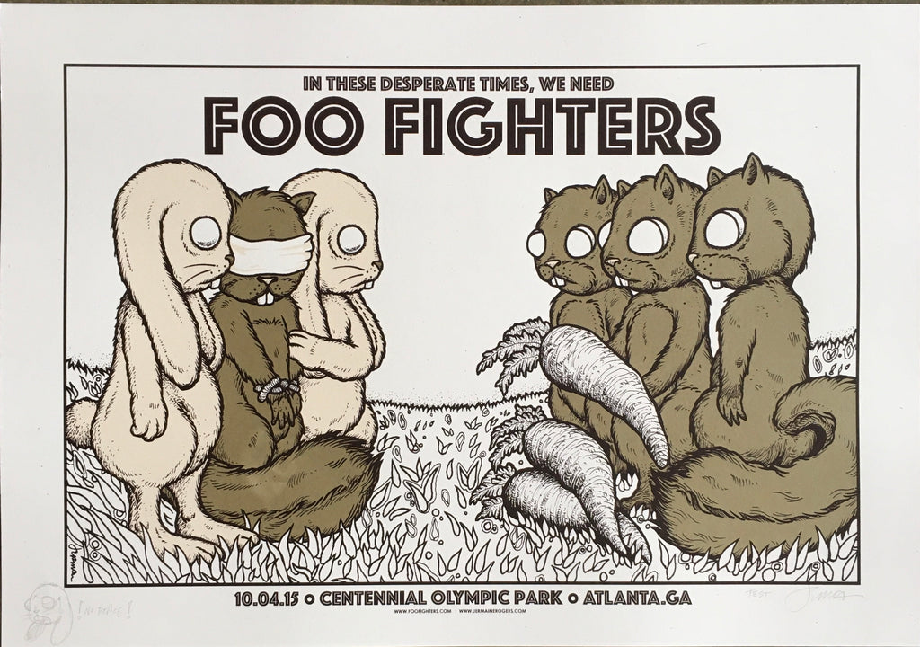 Foo Fighters - Atlanta, GA - 10.04.15 (The Exchange) TEST