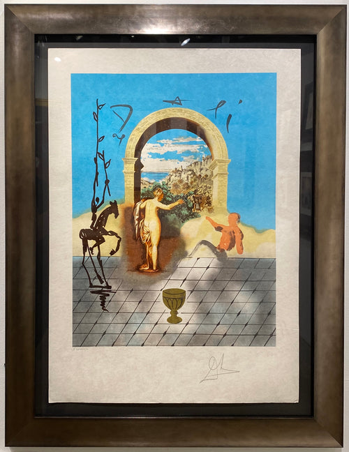 Gateway To The New World, Dali Discovers America Portfolio