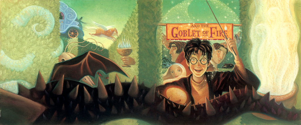 Harry Potter Book 4: The Goblet of Fire