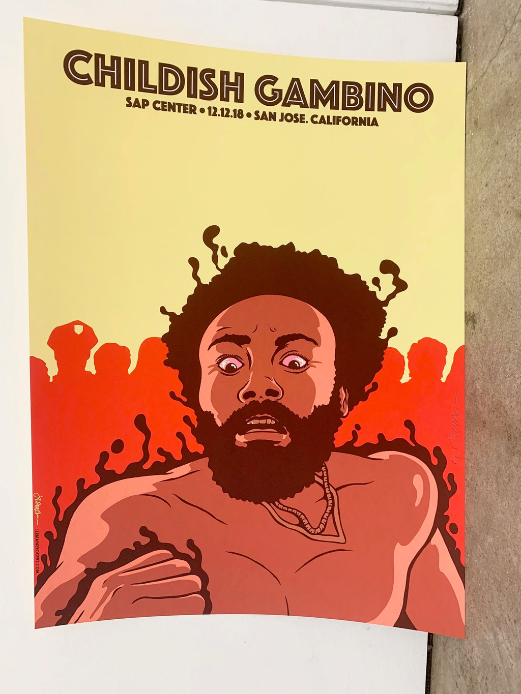 Childish Gambino San Jose 12.12.18 A/P