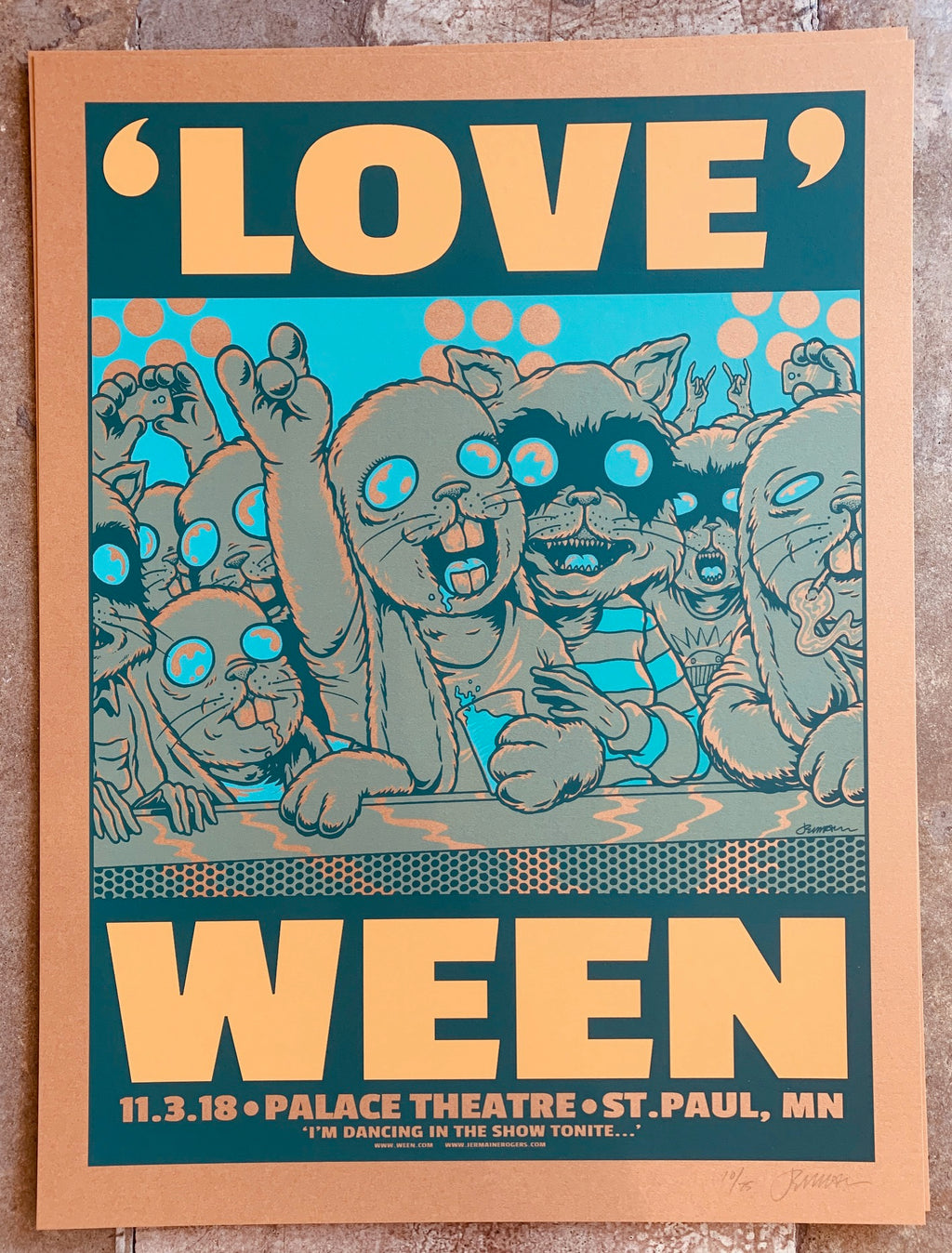 WEEN St. Paul 11.03.18 dancing 10/25